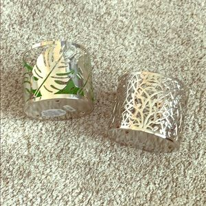 2 Bath & Body Works Candle Holders